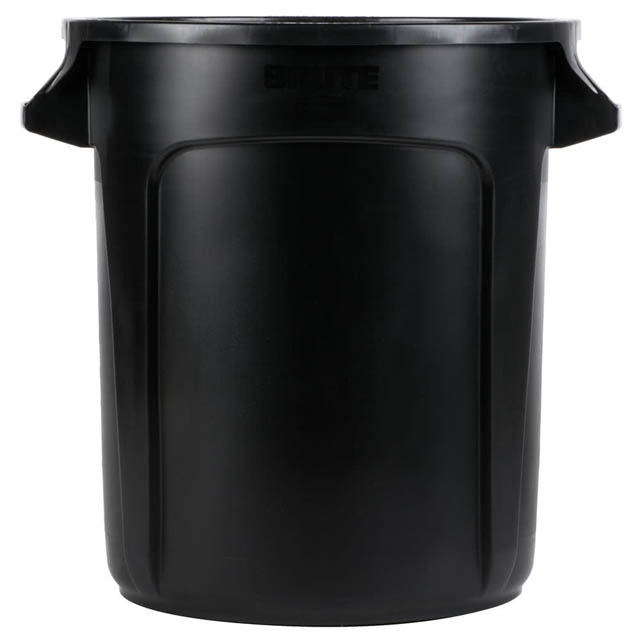 Vented BRUTE 丸型コンテナ 38L (10ガロン) 黒