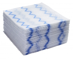 ディスポーザブルマイクロファイバークロス( 640枚入り) 青