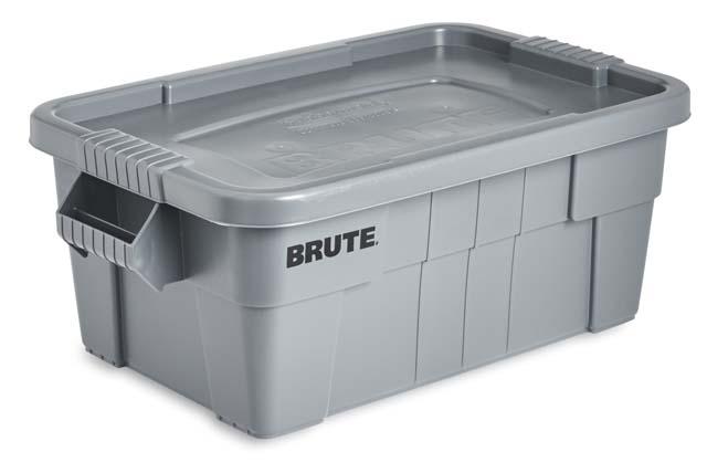 BRUTE トート ボックス グレー (S)