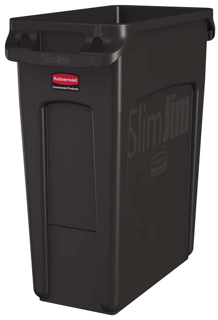 Vented Slim Jim コンテナ 60L (16ガロン) 茶