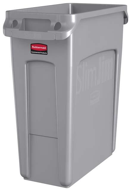 Vented Slim Jim コンテナ 60L (16ガロン) グレー