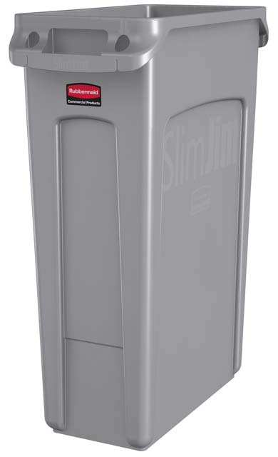 Vented Slim Jim コンテナ 87L (23ガロン) グレー