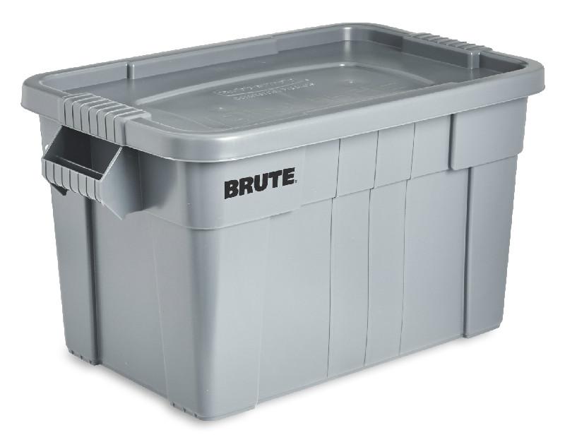 BRUTE トート ボックス グレー (L)